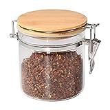 Tarro de almacenamiento de alimentos, (550 ml), 77L tarro de cristal con...