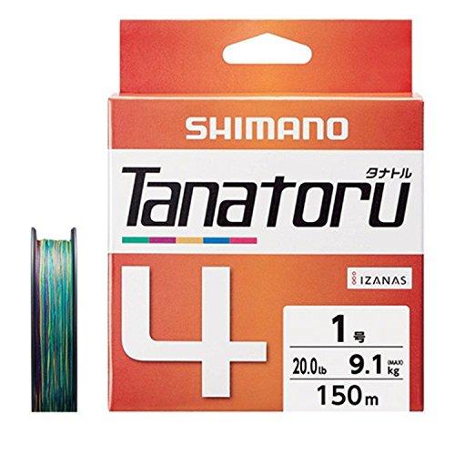シマノ(SHIMANO) PEライン タナトル4 150m 1.0号 20.0lb PL-F54R 釣り糸 ライン 1号