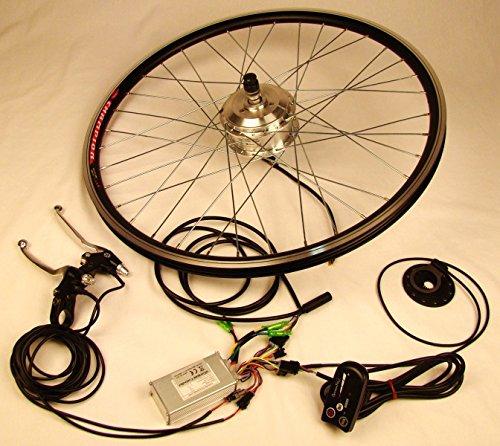 xGerman Nachrüstsatz 250W, VR-Antrieb mit LED-Display, ohne Akku, Fahrradgröße:28 Zoll Rad
