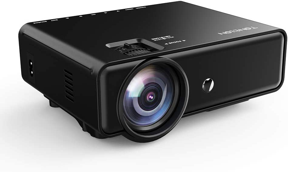 Tontion Upgrade 800x480  3400-Lumen Video Projector $42.99 Coupon
