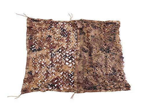 Carl Artbay luifelzeil, desert, camouflage, net, waterdicht canvas, zonnescherm voor camping, tuin, decoratie, afmetingen 6 x 10 meter, camouflage, camouflagenet