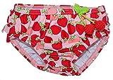 Needs Kids Windelbadehose mit Erdbeeren für Mädchen (80)