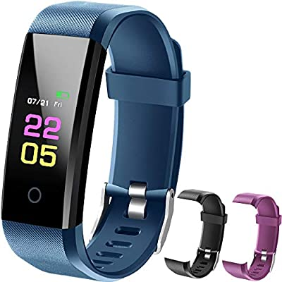 OumuEle Fitness Tracker, Kids Activity Tracker Watch Android with Heart Rate Monitor, Waterproof Fit Tracker Watch with Sleep Monitor Smart Bracelet with Calorie Counter Pedometer Watch …