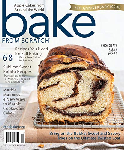 Bake from Scratch Cakes Magazine– September 2020: (PDF)
