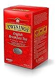 Twinings English Breakfast Tea - Schwarzer Tee lose in der Tee-Dose - kräftiger Schwarztee aus hochwertigen Teeblättern, gepflückt in Sri Lankas und Indiens besten Teegärten, 200 g
