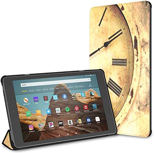 Custodia per nuovissimo tablet Amazon Fire Hd 10 (7a e 9a generazione, versione 2017 2019), copertura del supporto pieghevole sottile con attivazione sospensione automatica per tablet da 10,1 polli