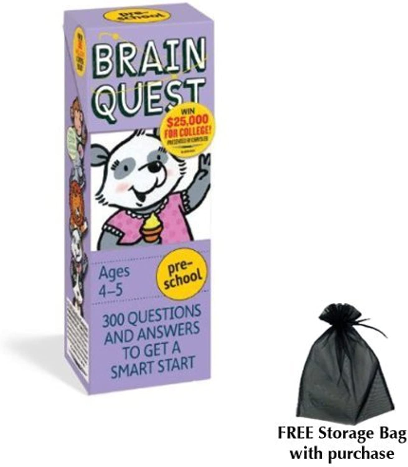 Brain Quest for Preschool with free storage bag by Workman Publishing