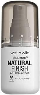 Photo Focus Setting Spray Natural Finish. Seal The Deal E301a