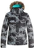 Roxy ERJTJ03053-KVJ9_S, Chaqueta de Nieve Para Mujer, Multicolor (kvj9) , M