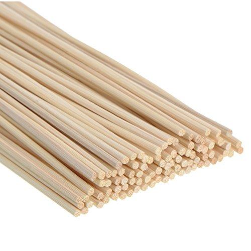 100 Stück Rattanstäbchen Reed Diffusor Stöcke Holz Rattan Reed Sticks ätherisches Öl Aroma Diffusor Stöcke