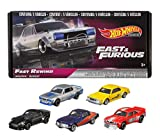 Hot Wheels Fast & Furious Bundle, 5 Premium Vehicles from Fast & Furious Movie Series, 1:64 Scale Die-Cast Vehicle Collection, Toys for 3 Year Olds and Up