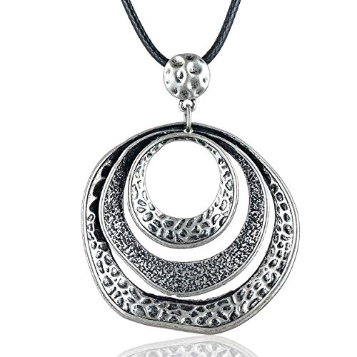 Coostuff Original Vintage Long Necklace with Pendant Necklaces for Women Fashion Jewelry