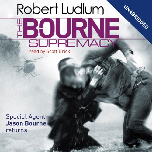 The Bourne Supremacy: Jason Bourne Series, Book 2                   By:                                                                                                                                 Robert Ludlum                               Narrated by:                                                                                                                                 Scott Brick                      Length: 27 hrs and 38 mins     303 ratings     Overall 4.3