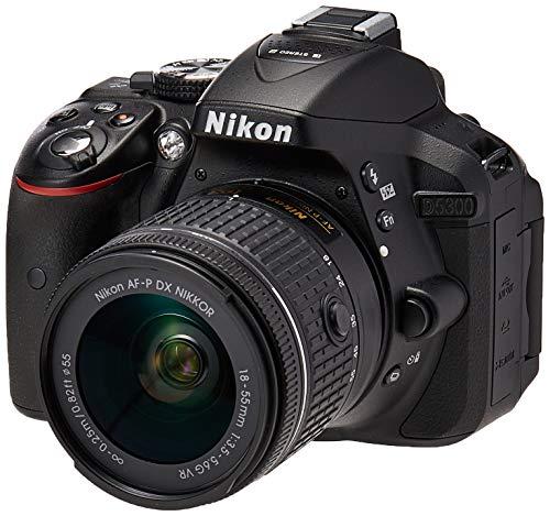 Câmera Digital Nikon D5300 Wi-Fi 24.2MP Vídeo Full HD + Kit Lente 18-55mm VR