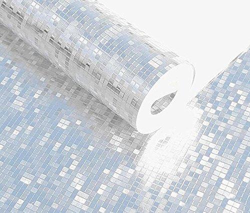 Mini Mosaik Luxus Glitzer Tapete Hintergrund Wand glänzend gold Folie Tapete silber Deckenleuchte Wall Paper tapetenherstellung chrome