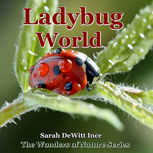 Ladybug World audiobook cover art