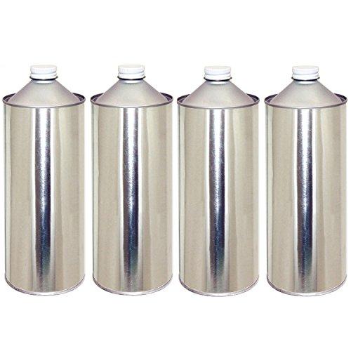 ガレージ・ゼロ 無地缶 1L×4缶 ネジ口/空缶/ブリキ缶/GZKN01 GSE371