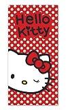Hello Kitty Toalla de playa roja con margaritas