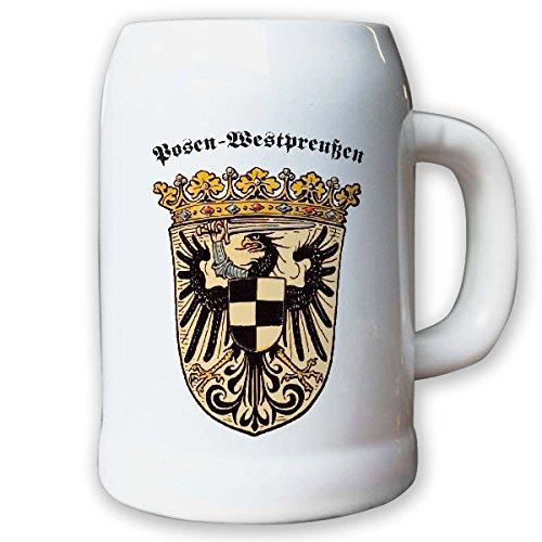 Krug/Bierkrug 0,5l - preußische Provinz Posen-Westpreußen Weimarer #9461