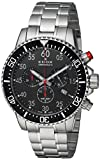 Edox Men's Chronorally -S Quartz Sport Watch with Stainless-Steel Strap, Silver, 20 (Model: 10227 3M NBN)