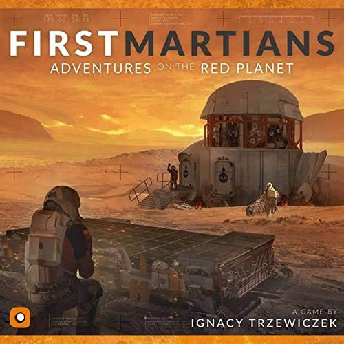 Wydawnictwo Portal POP00088 Juego de Tablero First Martians: Adventures on The Red Planet
