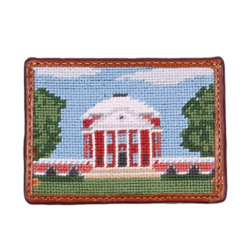 Rotunda Needlepoint Credit Card Wallet by Smathers & Branson