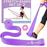 Exercise Stretch Bands for Physical Therapy, Fitness, Gym,...