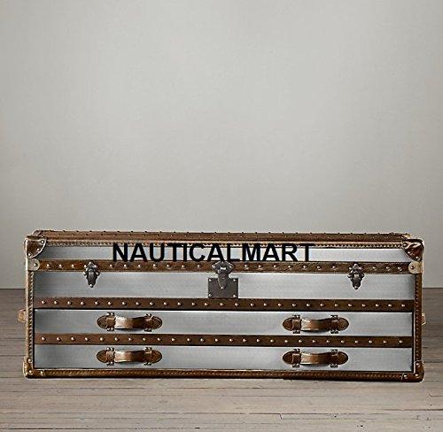 NauticalMart Mayfair Coffre de Basse Coffre 4- tiroir