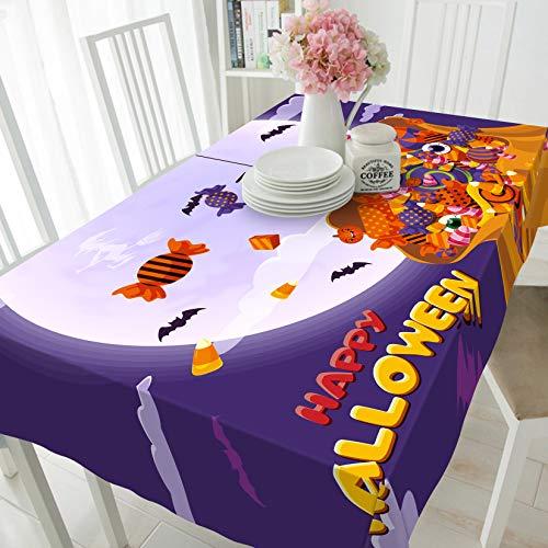 3D Süßigkeiten 210 Halloween Tischdecke Tischdecke Tuch Geburtstagsfeier Wallpaper Wandbild | 3D Groß Foto Tischdecke,AJ DE Belly (152x228cm(WxL)【59.8''x 89.7''】)