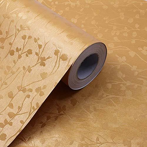 XIAORUI Papel Pintado Adhesivo 3D Impermeable,Papel Pintado Autoadhesivo de PVC,película de Color Puro,Fondo de Dormitorio y Sala de Estar,Pegatinas de Pared para renovación de pared-19_60cmX10m