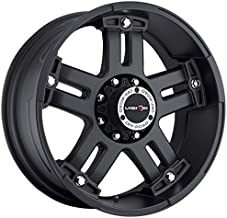 Vision 394 Warlord Wheel with Matte Black Finish (22x9.5