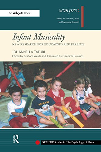 Infant Musicality: New Research for Educators and Parents (SEMPRE Studies in The Psychology of Music) (English Edition)