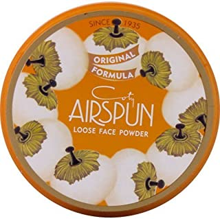 Coty Airspun Loose Powder, Translucent, 070-24, 2.3 Ounce (6 Pack) by air spun