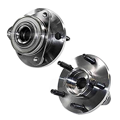 Detroit Axle 513237 Both Front Wheel Hub and Bearing Assembly for 2006-2008 Chevrolet HHR