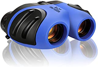 Binocular for Kids, Compact High Resolution Shockproof 8X Bird Watching Toys Perfect for Outdoor Hiking Games - Best Gifts...
