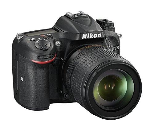 Nikon D7200- Cámara réflex Digital (24,72megapíxeles, WiFi Incorporado, NFC, SD 8GB, 200x Lexar Premium), Color Negro