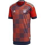 adidas FC Bayern de Múnich Camiseta Calentamiento, Hombre, Rojo (rojfcb/Maruni), S