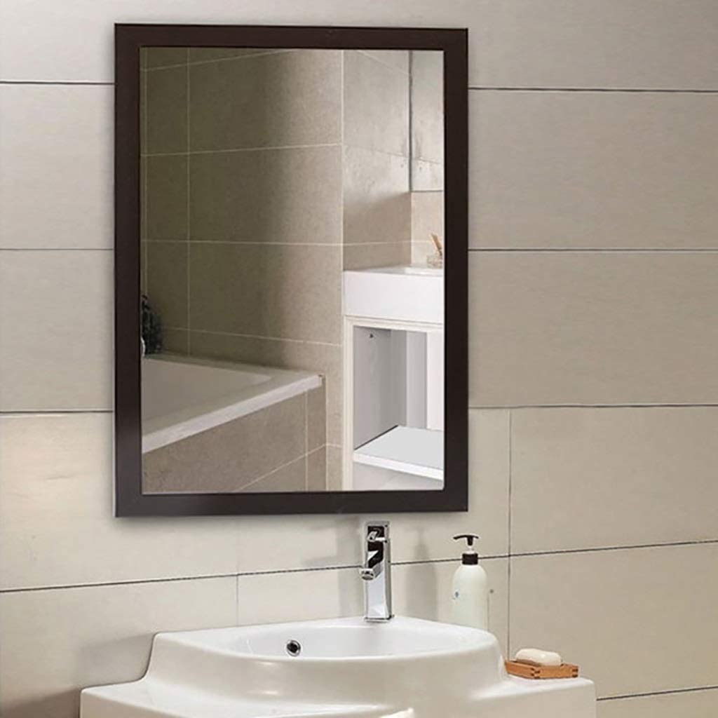 Wall Mirrors Bathroom Makeup Sale Mirror Max 74% OFF Frame Exquisite Wall-Mounted
