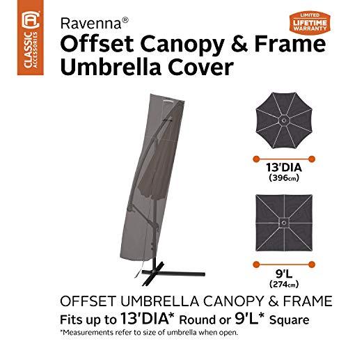 Classic Accessories Ravenna Cantilever Umbrella and Frame Cover