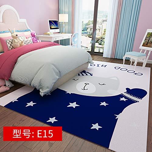 Netter rosa Girly Herz- Cartoon 200CM * 300CM E15,Moderner Wohnzimmer Retro Baumwoll-Teppich mit Quaste Eingang Dünne Bodenmatte Handgewebt Teppichläufer rutschfest für Wohnzimmer Schlafzimmer usw.