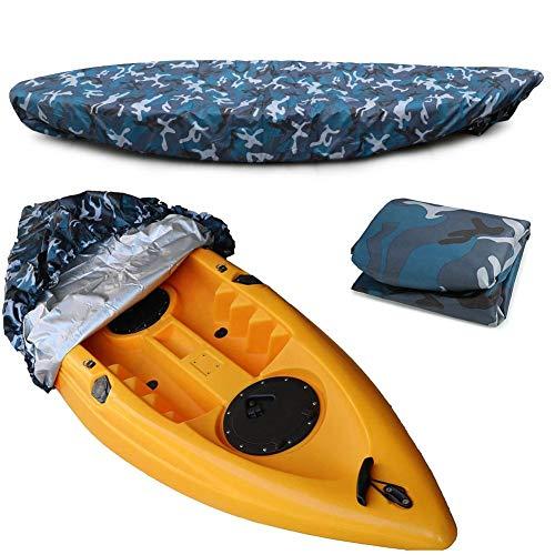 Funda impermeable para kayak para almacenamiento en interiores y exteriores,fundas repelentes al agua: proteja sus kayaks y la cabina de los escombros y la lluvia solar,apto para 2,6-3 m/7,8-9 pies