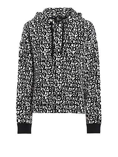 Moncler Luxury Fashion Damen 9054800C9009989 Weiss Polyamid Sweatshirt | Herbst Winter 19