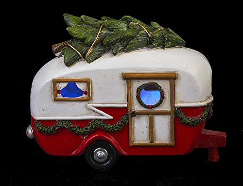 Ganz Árbol de Navidad de luz de Furgoneta LED 6,5 Pulgadas de Mesa ...