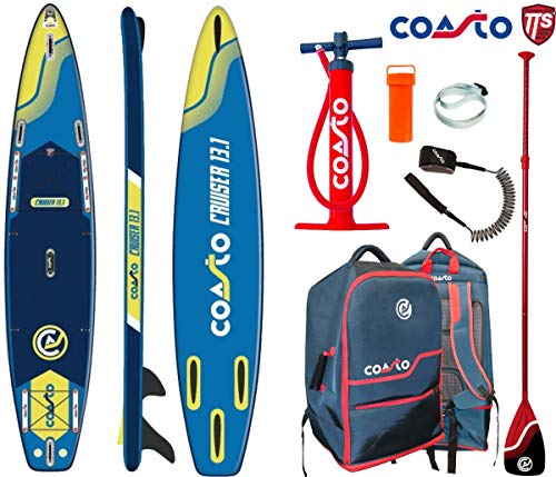 COASTO Cruiser 13.1 SUP Board Stand Up Paddle Surf-Board Race Touring ISUP SUP 396x78cm