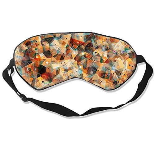 GRFER Flannel Shirt Wallpaper Best Sleep Mask Travel, Nap, Adjustable Belt Eye Mask for Men and Women