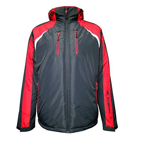Temster Wintersportjacke Sport Ski-Jacke Funktionsjacke, Outdoor- Snowboard- Winterjacke-Navy-XL