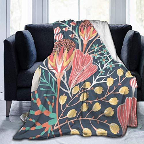 Wobuzhidaoshamingzi Plant Cute Candy superzacht, licht, knuffelig, warme, pluizige pluche deken voor de stoel