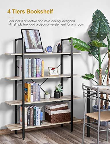 Bookshelf-Vintage-Industrial-4-Tier-Bookcase-Solid-Wood-and-Metal-Frame-Sturdy-Bookshelves-Open-Wide-Book-Shelf-Storage-for-Home-Office-Living-Room-Furniture-Oak-Grain