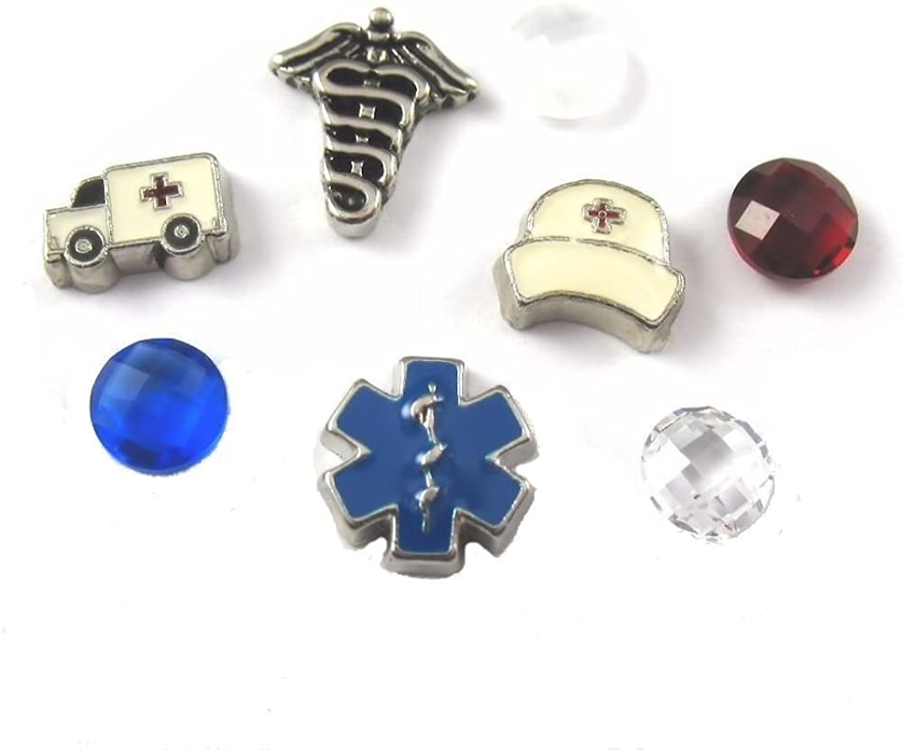 FCL Designs - All stores are sold Nurse Max 58% OFF Theme Combination Locket Charms for Floating