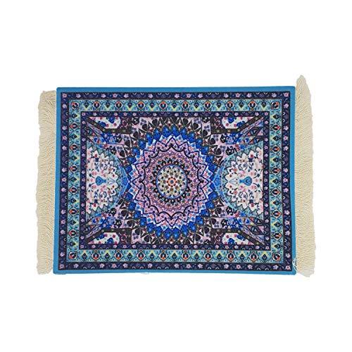 DESIGNMANUFAKTUR Teppich Mauspad Perser Mousepad orientalischer Teppich als Mousepad Mausunterlage - lustiges Büro Zubehör - Motiv 7